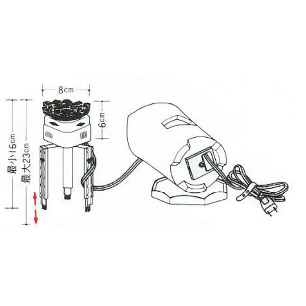 茶道具 煎茶用炉 煎茶用 ミニ炭型ヒーター ※この商品は取り寄せ品になります。