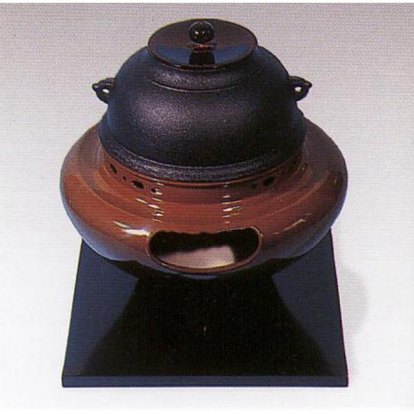 茶道具 風炉 合金製 朝鮮風炉 ※この商品は取り寄せ品になります。