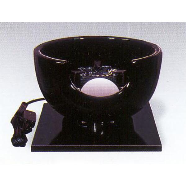 茶道具 風炉 真塗 紅鉢型 ※この商品は取り寄せ品になります。