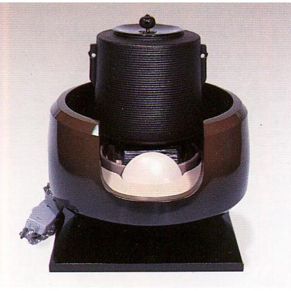 茶道具 風炉 合金製 面取風炉古銅色 ※この商品は取り寄せ品になります。