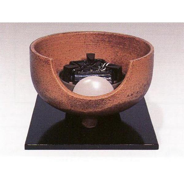 茶道具 風炉 伊羅保 道安型 今井康人作 ※この商品は取り寄せ品になります。