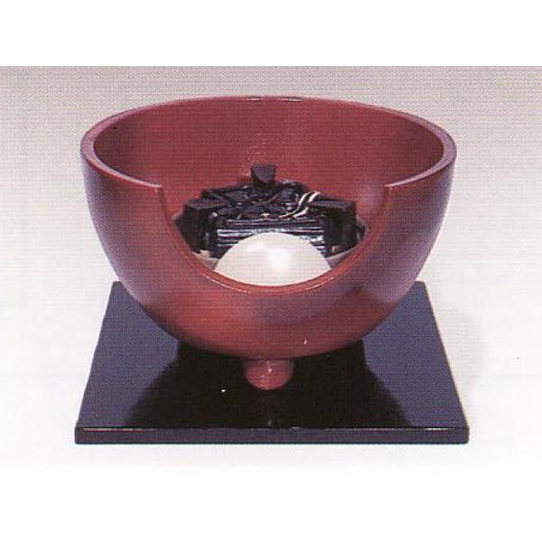 茶道具 風炉 信楽 火色 紅鉢型 今井康人作 ※この商品は取り寄せ品になります。