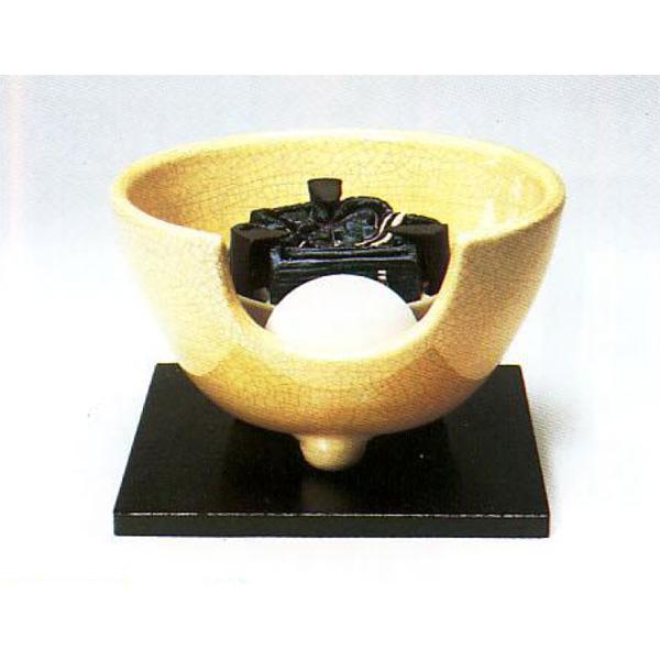 茶道具 風炉 枇杷色さつま 紅鉢型 ※この商品は取り寄せ品になります。