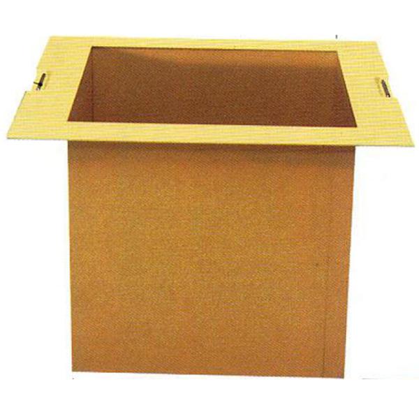 茶道具 組立式 炉壇 炭点前用本寸 ※この商品は取り寄せ品になります。