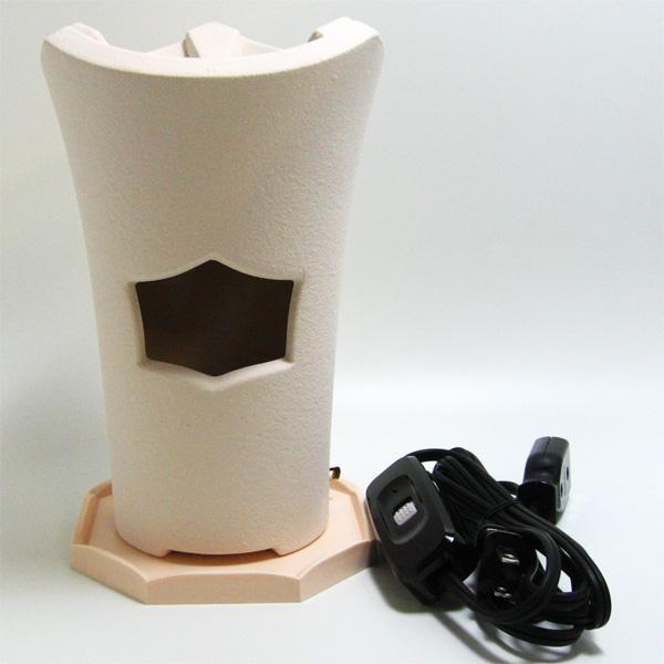 茶道具 煎茶用炉 涼炉(白) ※この商品は取り寄せ品になります。