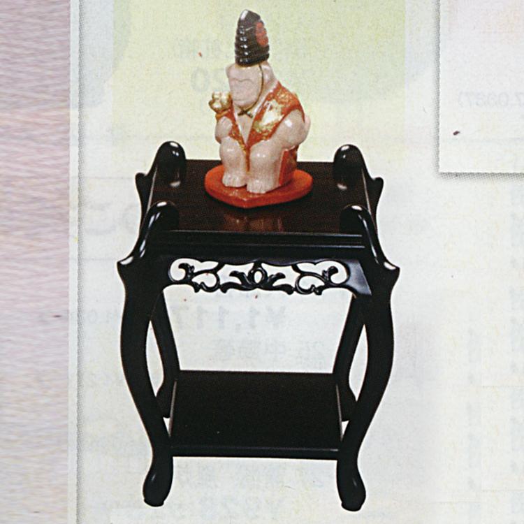 茶道具 黒檀 中卓 ●香炉は含まれておりません。(茶道具 通販 )