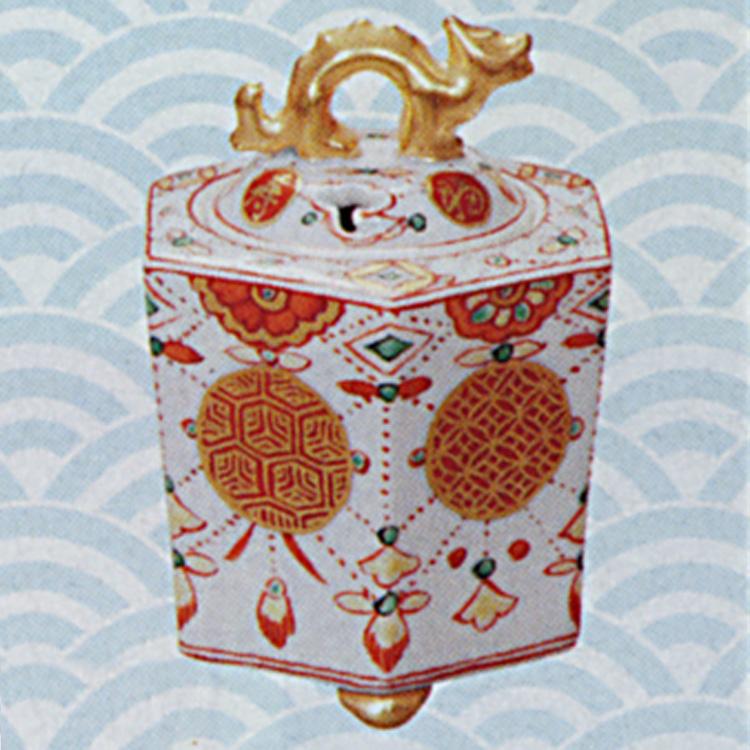茶道具 香炉 瓔珞 六角龍 高野昭阿弥 (茶道具 通販 )
