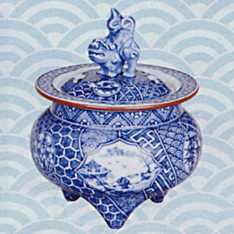茶道具 香炉 祥瑞 獅子頭 高野昭阿弥(京都市) (茶道具 通販 )