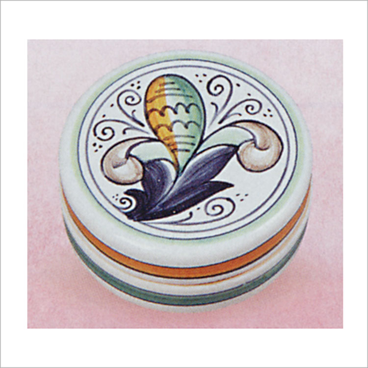 茶道具 香合 巻上げ葉 伊太利製 香合(茶道具 通販 )