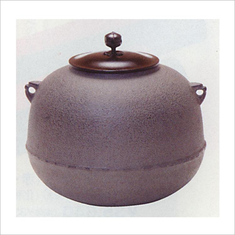 茶道具 風炉釜 丸 利休好写 菊地政光 (茶道具 通販 )