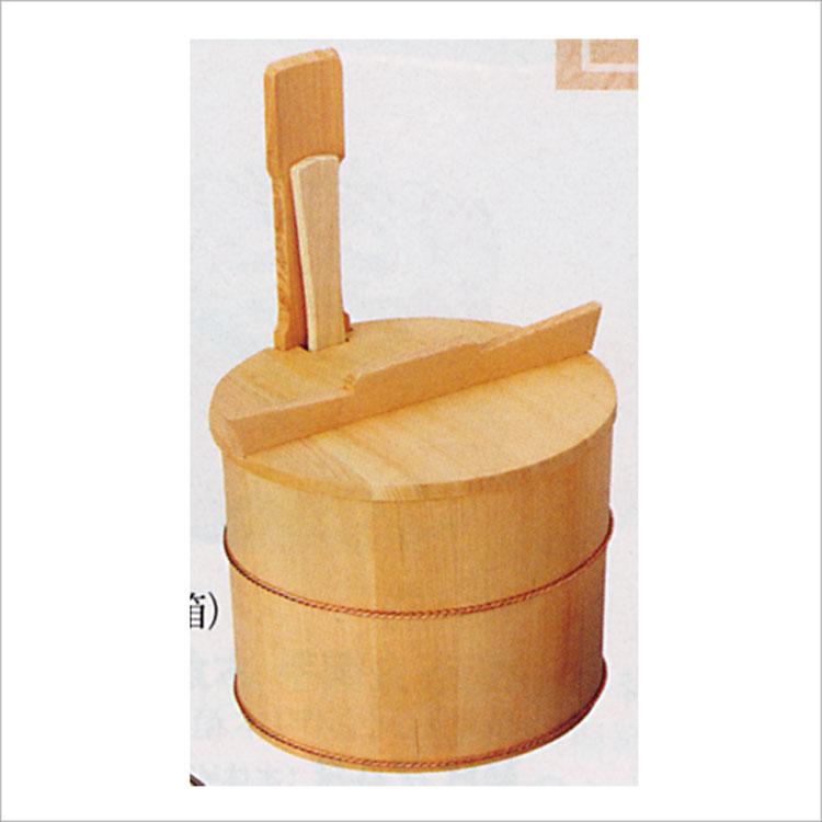 茶道具 茶飯用 片手桶飯器 (しゃもじ付) 円二 (茶道具 通販 )