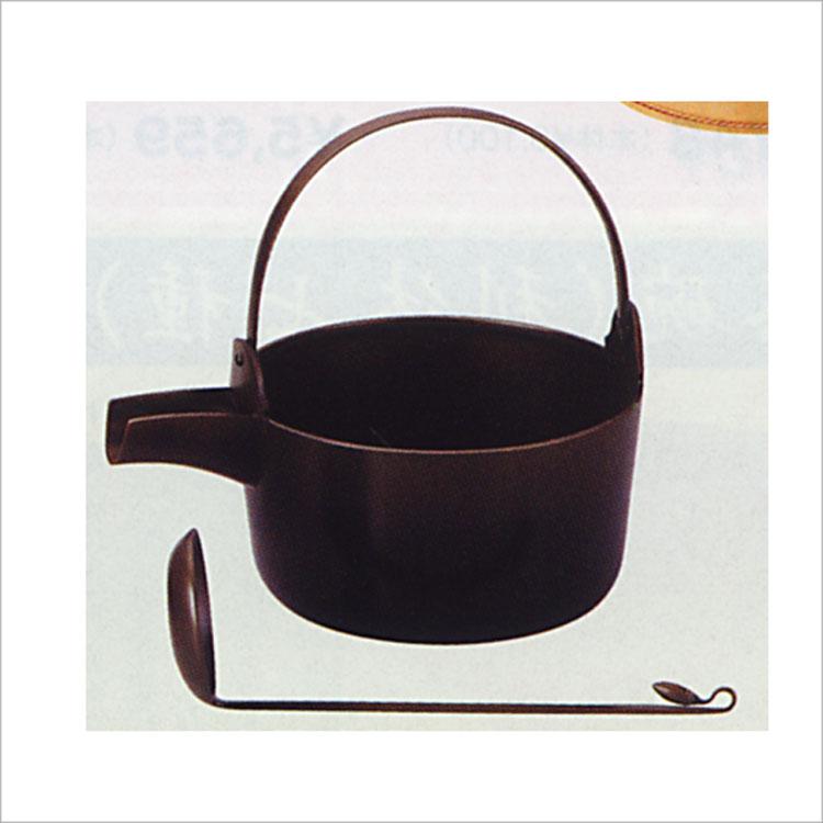 茶道具 唐銅汁器 (杓子付) 哲匠 (茶道具 通販 )