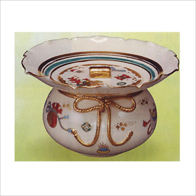 茶道具 立礼用水指 仁清 砂金袋 御室窯 水指(茶道具 通販 )