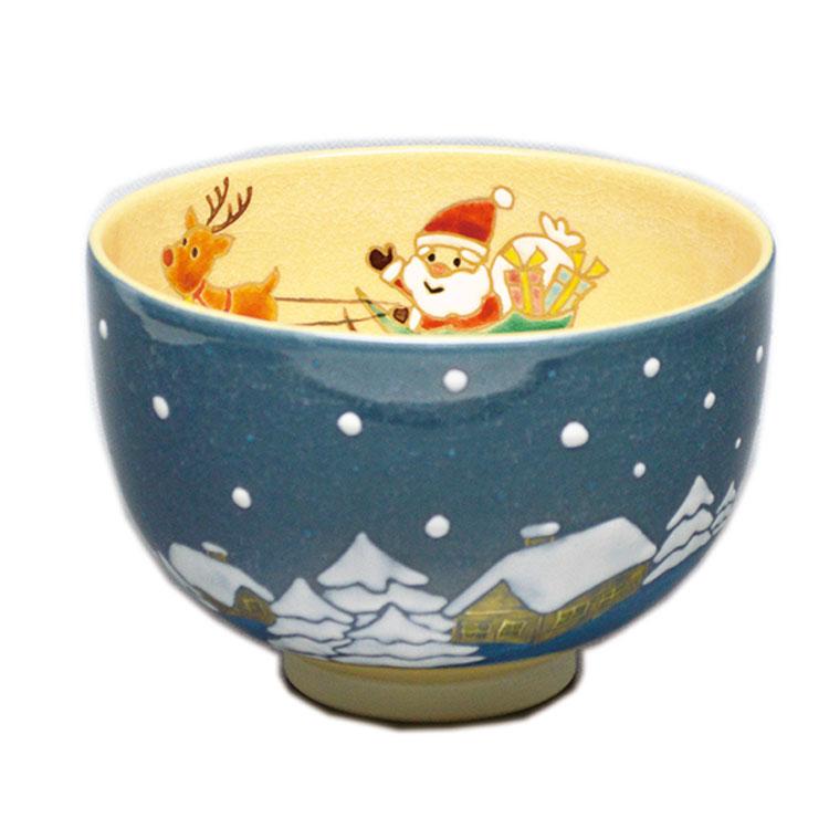 茶道具 抹茶茶碗(まっちゃちゃわん) 茶碗 クリスマス 山川 敦司 作