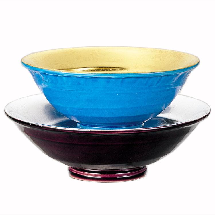 茶道具 抹茶茶碗(まっちゃちゃわん) 嶋台茶碗 交趾 陶若窯