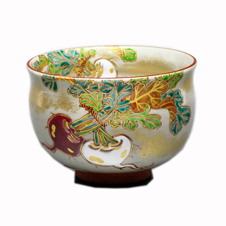茶道具 抹茶茶碗(まっちゃちゃわん) 茶碗 乾山 紅白蕪 水出 宋絢 作