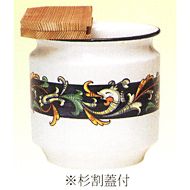 茶道具 水屋瓶 イタリア グロテスカ 杉割蓋付 水屋瓶(茶道具 通販 )