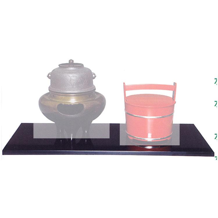 茶道具 掻合塗長板 炉・風炉一双●商品名以外のものは別売です。 長板(茶道具 通販 )