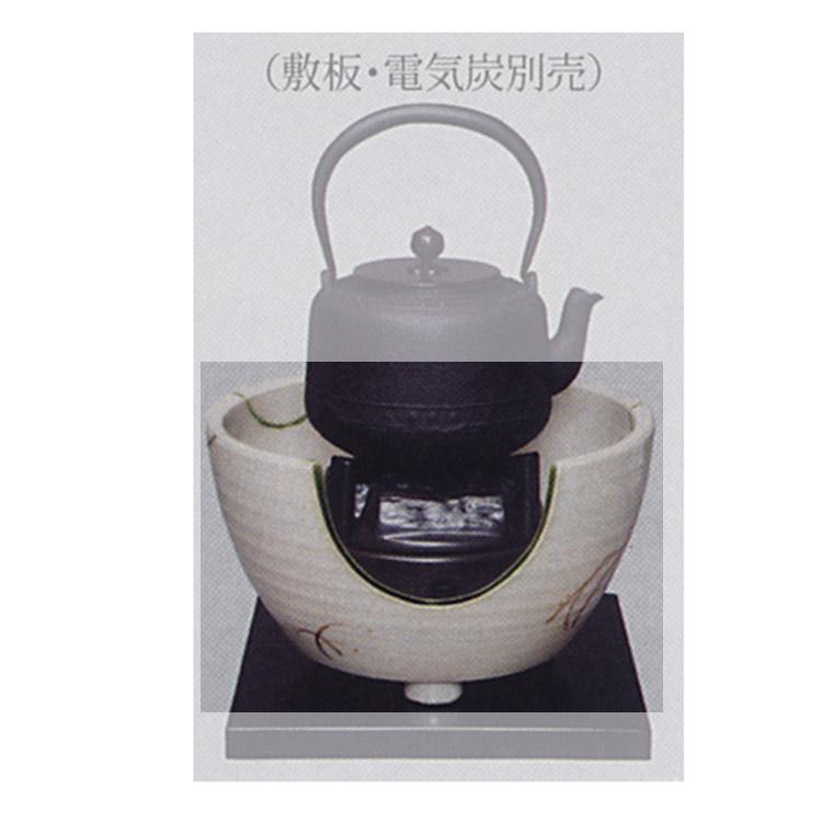 茶道具 紅鉢 弥七田織部 コード穴付●商品名以外のものは別売です。 壱陶 紅鉢(茶道具 通販 )