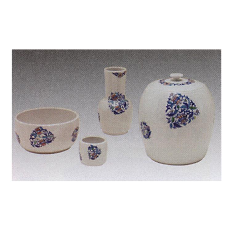 茶道具 皆具 色彩 サラサ彫 寺尾陶象 皆具(茶道具 通販 )