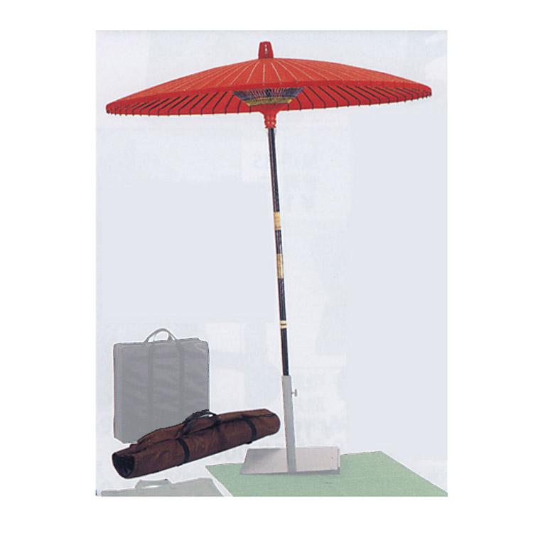 茶道具 野点傘 3尺 (収納バッグ付)●商品名以外のものは別売です。 野点傘(茶道具 通販 )