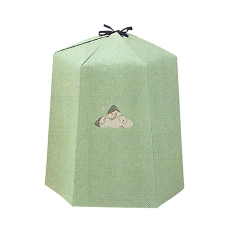 茶道具 雪洞 薄緑 檀紙 山崎吉左衛門 雪洞(茶道具 通販 )