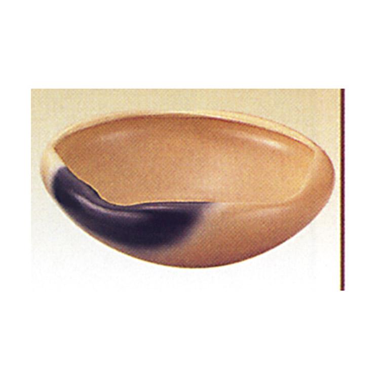 茶道具 灰器 雲華 白 風炉用 新型 蒲池窯 灰器(茶道具 通販 )