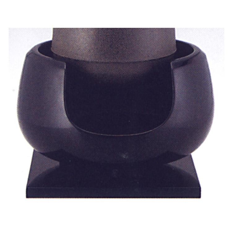 茶道具 土風炉 黒 尺一 瓦仕上げ ●写真はイメージです。 蒲池窯 風炉(茶道具 通販 )