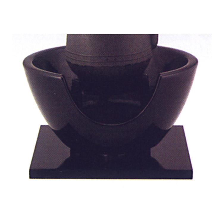 茶道具 紅鉢 黒 尺〇 瓦仕上げ●写真はイメージです。 蒲池窯 紅鉢(茶道具 通販 )