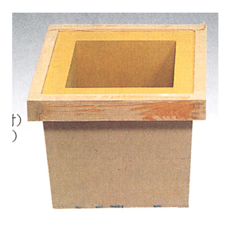茶道具 本壁炉壇 土壁木枠 一孫斎 炉壇(茶道具 通販 )