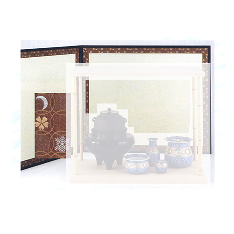 茶道具 2尺4寸風炉先 総張 雪月花 江戸間●商品名以外のものは別売です。 (茶道具 通販 )