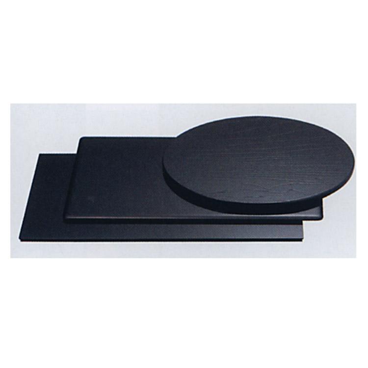 茶道具 三枚組敷板 (掻合塗丸小板) 敷板(茶道具 通販 )