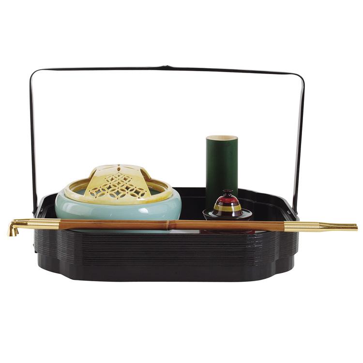 茶道具 莨盆(煙草盆・たばこぼん) 木瓜形 手付莨盆 宗旦好写 宗之