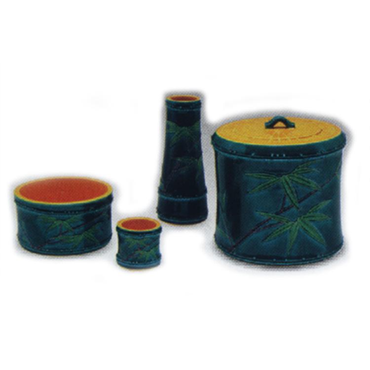 茶道具 皆具(かいぐ) 皆具 竹節 陶若窯