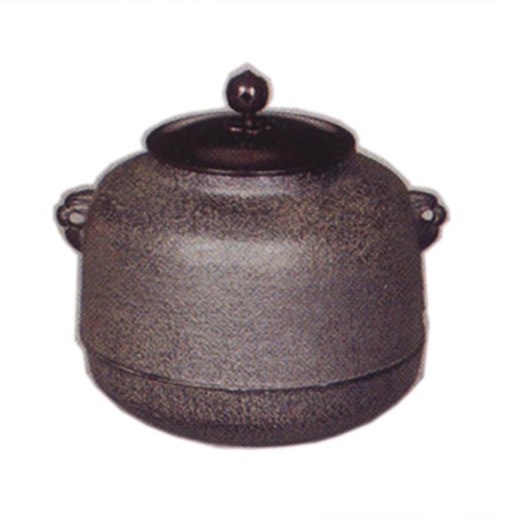 茶道具 風炉釜(ふろがま) 小釜 阿弥陀堂 菊地 政光 作