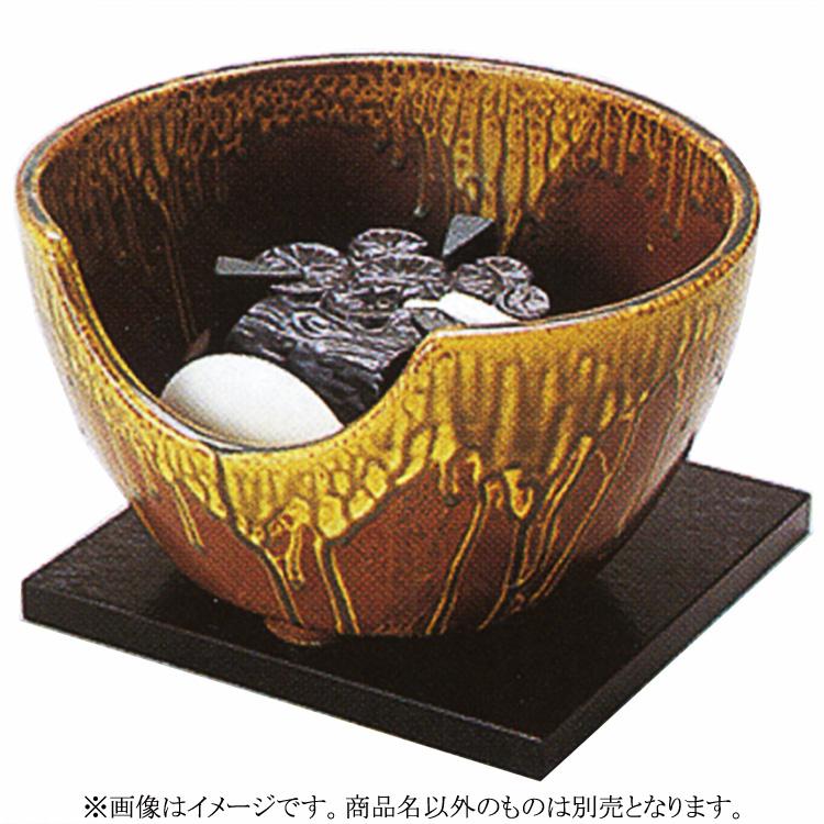 茶道具 風炉(ふろ) ヤマキ製電熱式紅鉢 信楽 100V/200W/500W