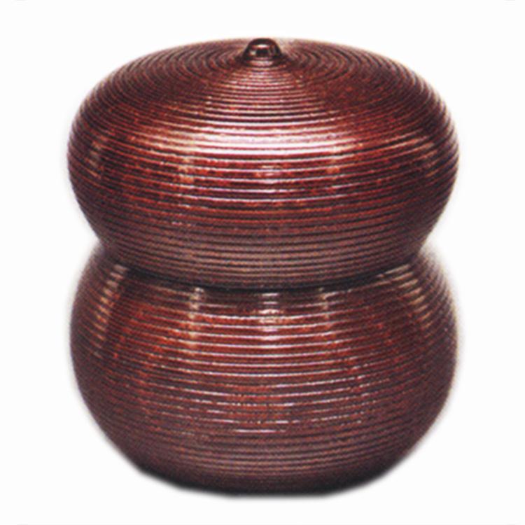 茶道具 茶器(ちゃき) 瓢形茶器 千筋