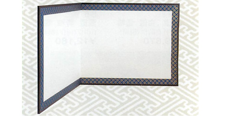 2021公式店舗 茶道具 総張 2尺4寸風炉先 総張 利休梅 本仕立 本仕立 紙丁番 両面使い(江戸間) 茶道具【茶道具 軸 平安堂】, むらげん:6acf743d --- greencard.progsite.com