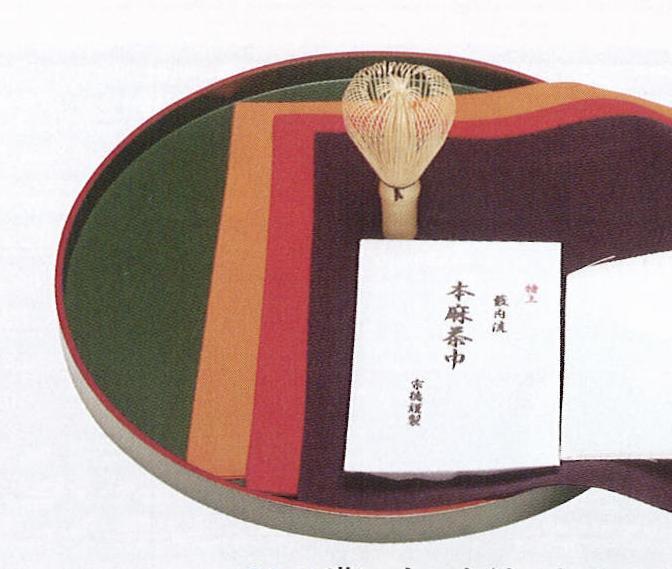 茶道具 盆点盆 一閑 青漆爪紅 尺二 化粧箱【茶道具 ぼんだてぼん 通販】