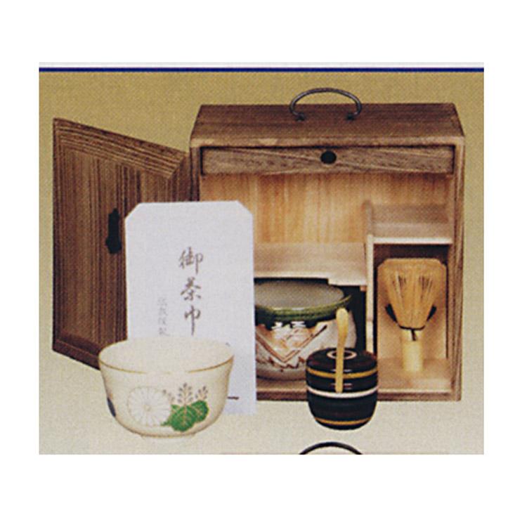 茶道具 色紙箱用茶道具セット ※色紙箱は付属しておりません ●写真は使用例です。商品名以外のものは別売です。 (茶道具 通販 )