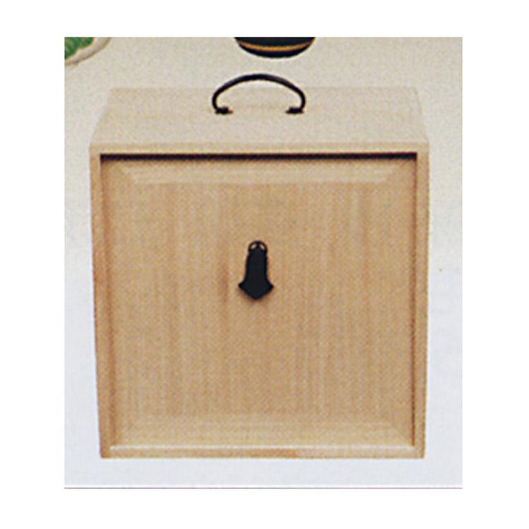 茶道具 8寸5分 色紙箱 桐木地 色紙箱(茶道具 通販 )