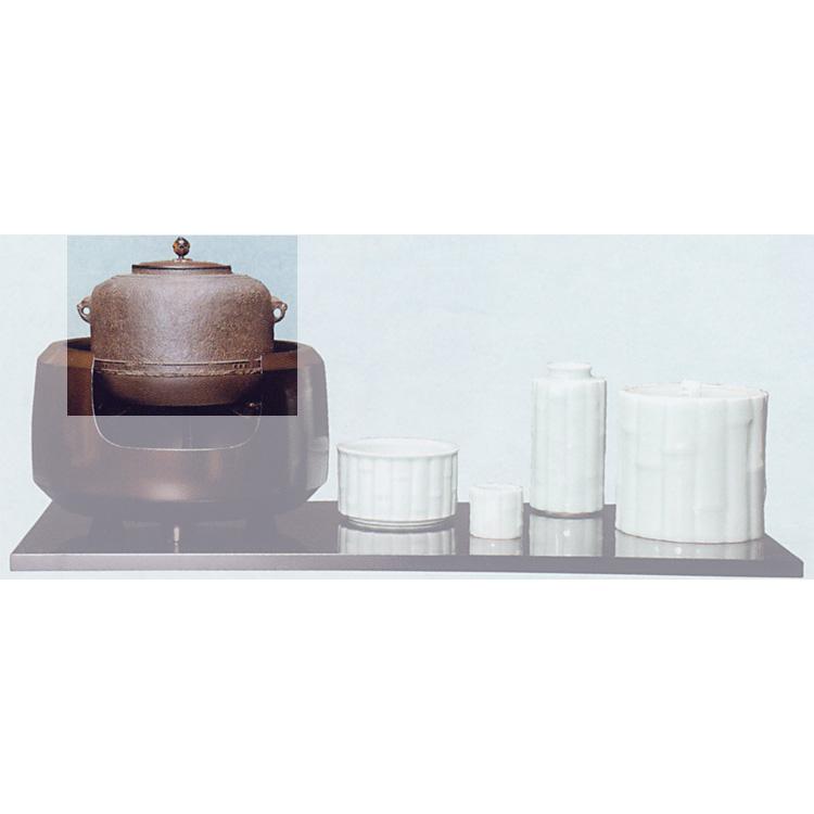 茶道具 風炉釜 万代屋 利休好写 ●商品名以外のものは別売です。 菊地政光 風炉釜(茶道具 通販 )
