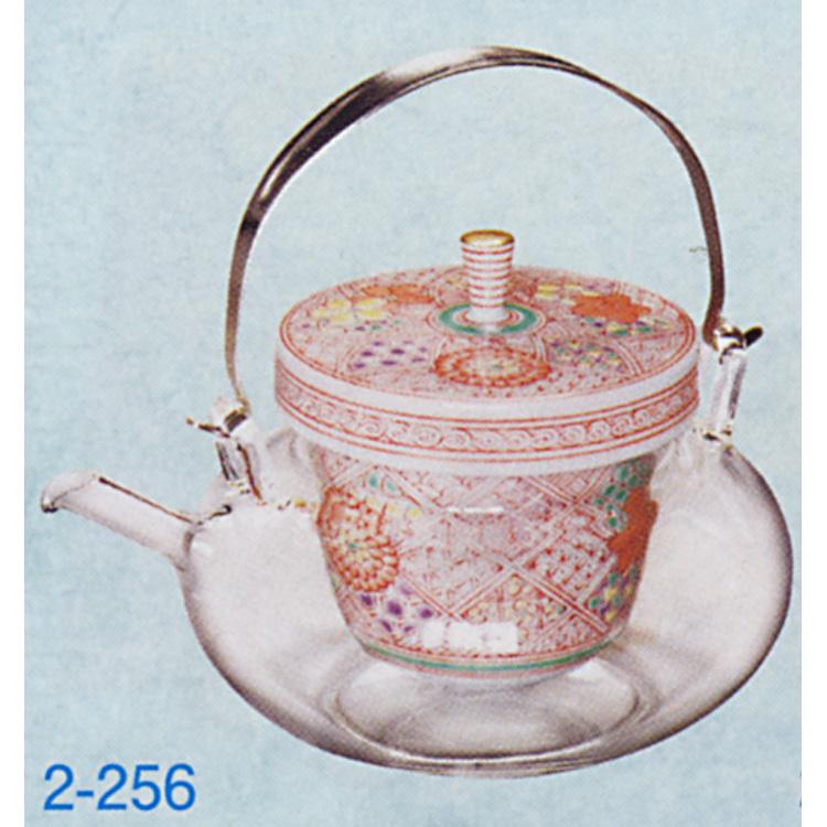 茶道具 丸地炉利 赤絵 (冷酒用) M 2合 (360ml) 懐石道具(茶道具 通販 )