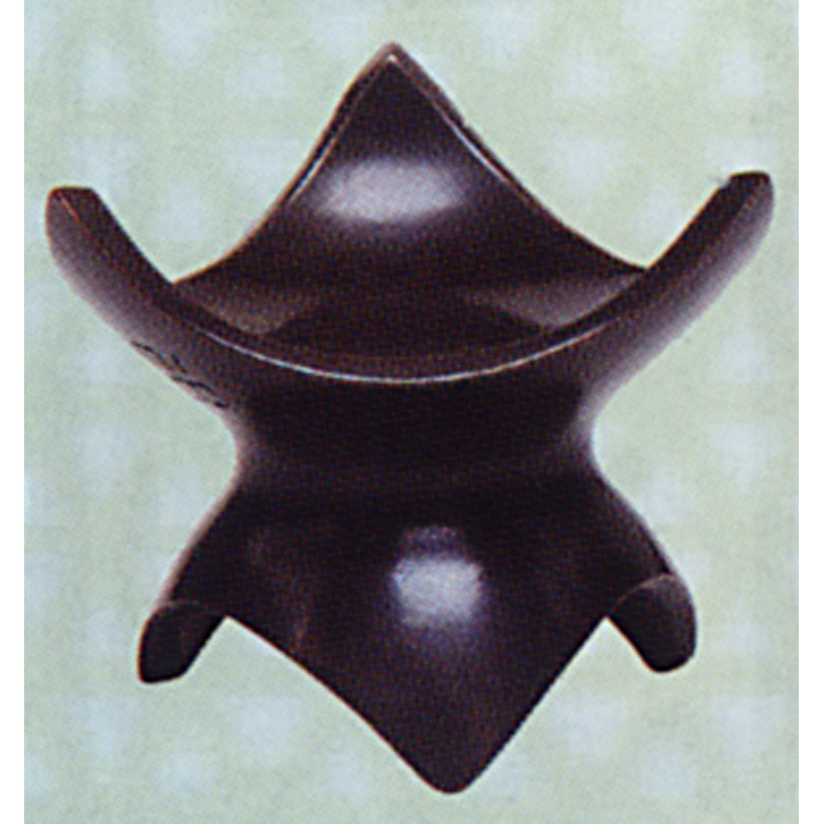 茶道具 唐銅蓋置 三ツ葉 十二代加藤忠三郎 蓋置(茶道具 通販 )