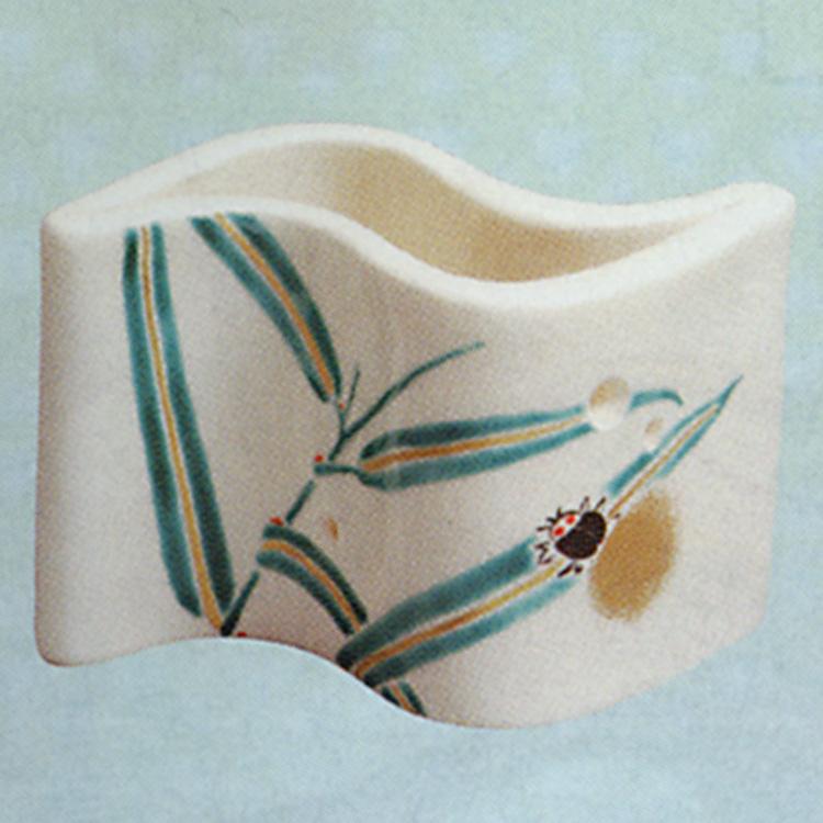 茶道具 蓋置 芦に蛍 山川敦司 蓋置(茶道具 通販 )
