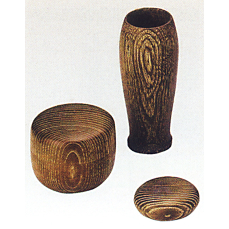 茶道具 三点セット(棗・香合・茶筌筒) 女桑 (木製) 三点セット(棗・香合・茶筌筒)(茶道具 通販 )