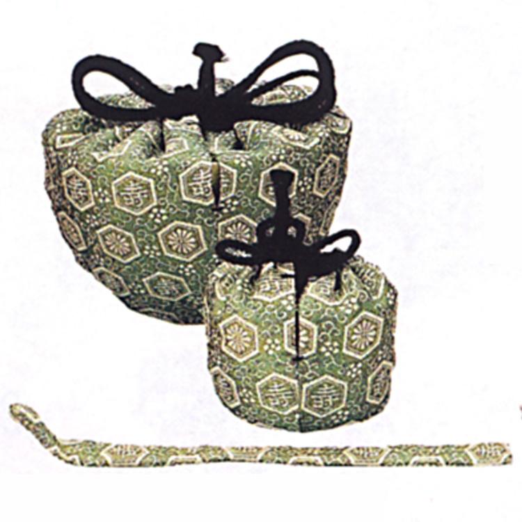 茶道具 三ツ組仕服 祥寿緞子 三ツ組仕服(茶道具 通販 )