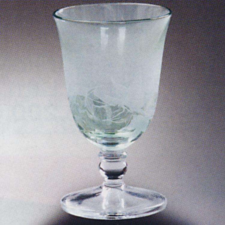 茶道具 冷酒グラス 青楓 グリーン [2客] (茶道具 通販 )