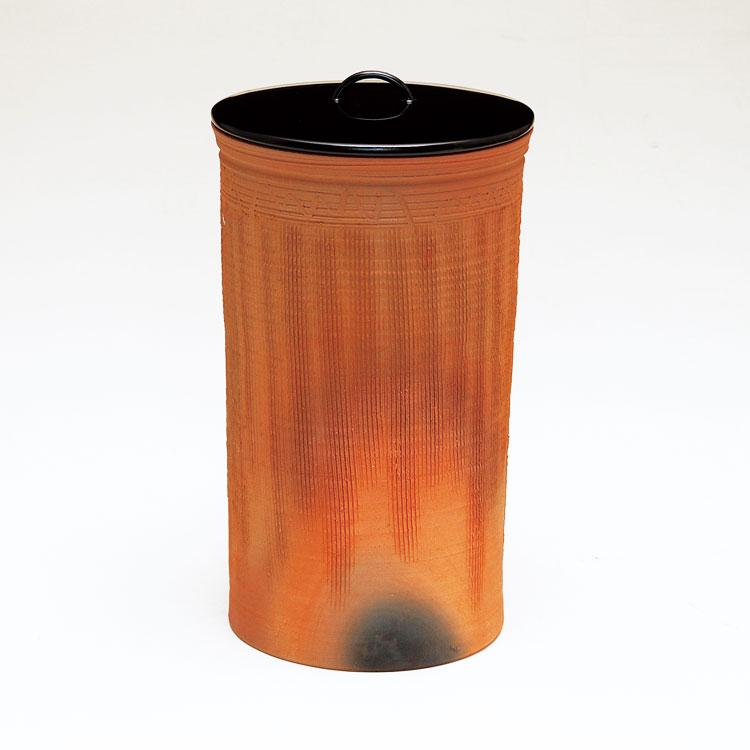 茶道具 水指細水指 南蛮 縄簾 (縄すだれ) 太仙窯