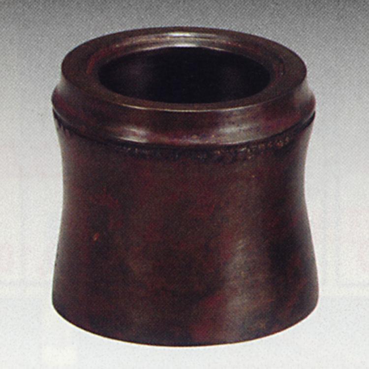 茶道具 唐銅蓋置 竹節 風炉 十二代加藤忠三郎 蓋置(茶道具 通販 )